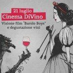 Cinema DiVino, i grandi film si gustano in Cantina: 21 luglio