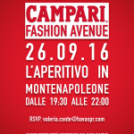 Campari e la Fashion Avenue_26 Settembre_Via Montenapoleone