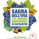49° Sagra dell'uva e del lambrusco Grasparossa di Castelvetro