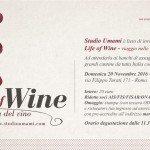 Life of Wine: a Roma 60 cantine e le loro vecchie annate per un evento unico