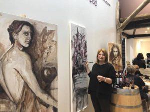 L'EnoArte dell'Artista fiorentina Elisabetta Rogai per i 50 anni del Montepulciano 'Abruzzo Al Vinitaly 2018